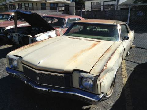 1971 Chevrolet Monte Carlo for sale at Mr Wonderful Motorsports in Aurora IL