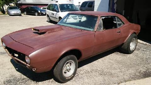 1967 Chevrolet Camaro for sale at Mr Wonderful Motorsports - Muscle Cars in Aurora IL