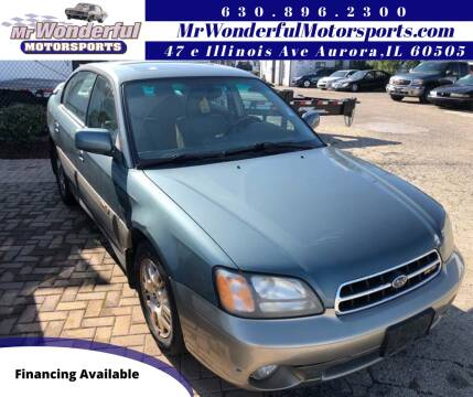 2002 Subaru Outback for sale at Mr Wonderful Motorsports in Aurora IL