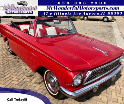 1961 AMC Rambler for sale at Mr Wonderful Motorsports in Aurora IL