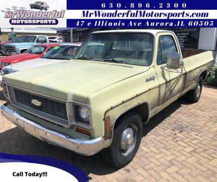 1974 Chevrolet C/K 20 Series for sale at Mr Wonderful Motorsports in Aurora IL