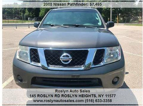 2008 Nissan Pathfinder for sale in Roslyn Heights, NY