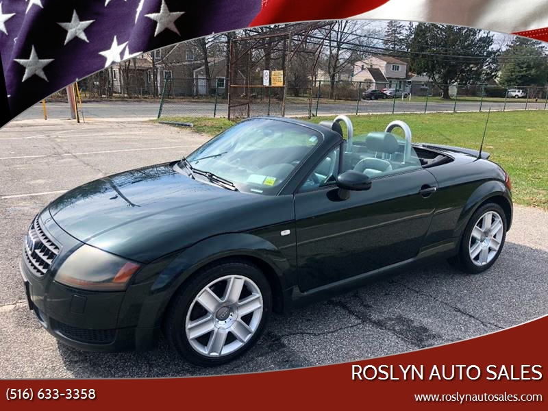 Tt Auto Sales >> 2005 Audi Tt 180hp 2dr Roadster In Roslyn Heights Ny Roslyn Auto Sales