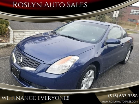 2008 Nissan Altima for sale in Roslyn Heights, NY