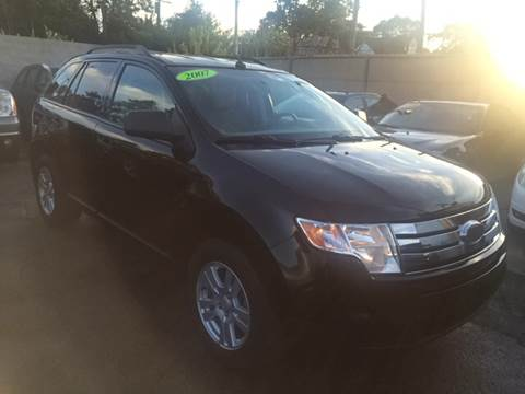 2007 Ford Edge for sale at Twin's Auto Center Inc. in Detroit MI