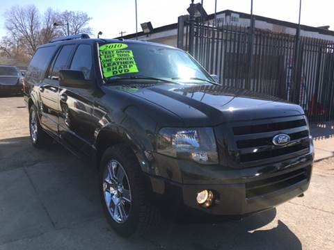 2010 Ford Expedition EL for sale at Twin's Auto Center Inc. in Detroit MI