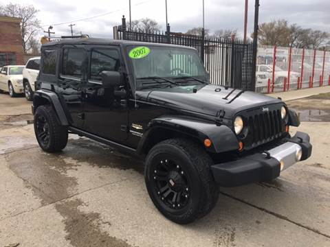 2007 Jeep Wrangler Unlimited for sale at Twin's Auto Center Inc. in Detroit MI