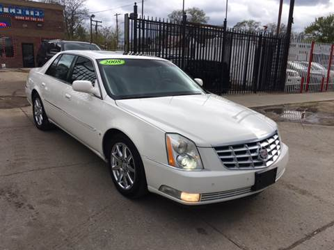 2008 Cadillac DTS for sale at Twin's Auto Center Inc. in Detroit MI