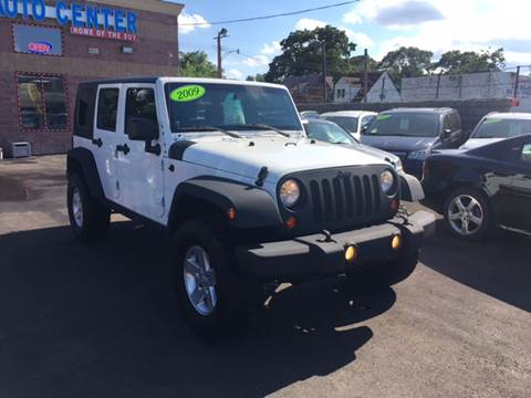 2009 Jeep Wrangler Unlimited for sale at Twin's Auto Center Inc. in Detroit MI