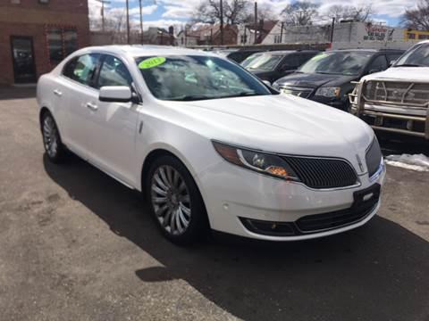 2013 Lincoln MKS for sale at Twin's Auto Center Inc. in Detroit MI