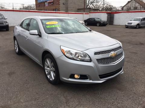 2013 Chevrolet Malibu for sale at Twin's Auto Center Inc. in Detroit MI
