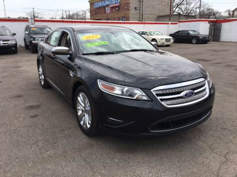 2012 Ford Taurus for sale at Twin's Auto Center Inc. in Detroit MI