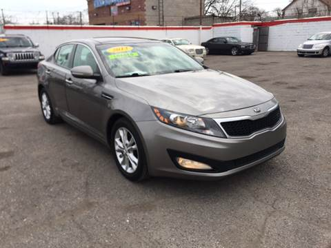 2013 Kia Optima for sale at Twin's Auto Center Inc. in Detroit MI