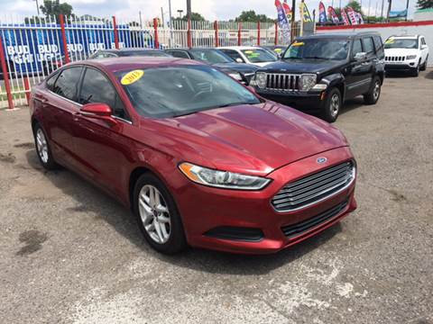2013 Ford Fusion for sale at Twin's Auto Center Inc. in Detroit MI