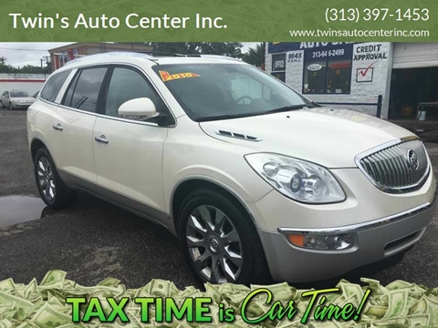 2010 Buick Enclave for sale at Twin's Auto Center Inc. in Detroit MI