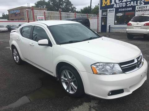 2011 Dodge Avenger for sale at Twin's Auto Center Inc. in Detroit MI
