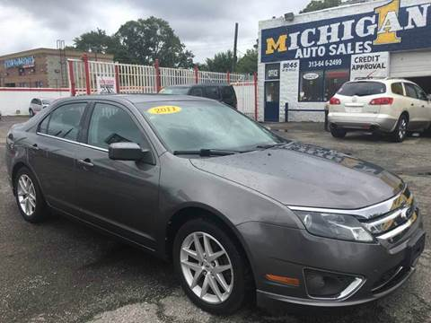 2011 Ford Fusion for sale at Twin's Auto Center Inc. in Detroit MI