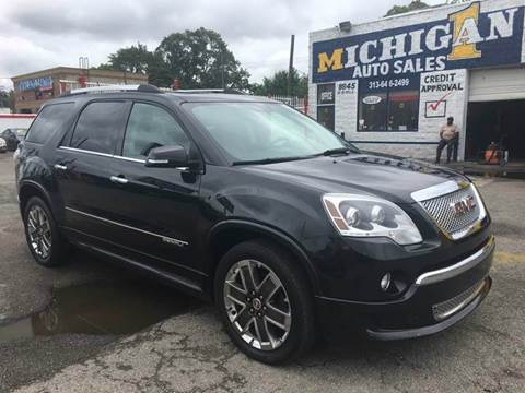 2012 GMC Acadia for sale at Twin's Auto Center Inc. in Detroit MI