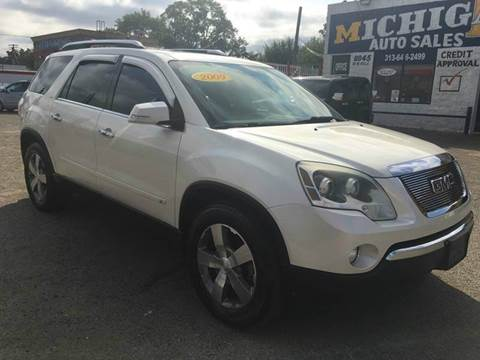 2009 GMC Acadia for sale at Twin's Auto Center Inc. in Detroit MI