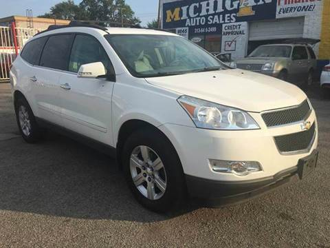 2012 Chevrolet Traverse for sale at Twin's Auto Center Inc. in Detroit MI