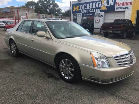 2009 Cadillac DTS for sale at Twin's Auto Center Inc. in Detroit MI