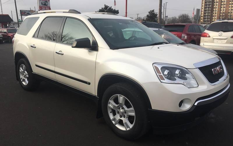 2010 Gmc Acadia car for sale in Detroit