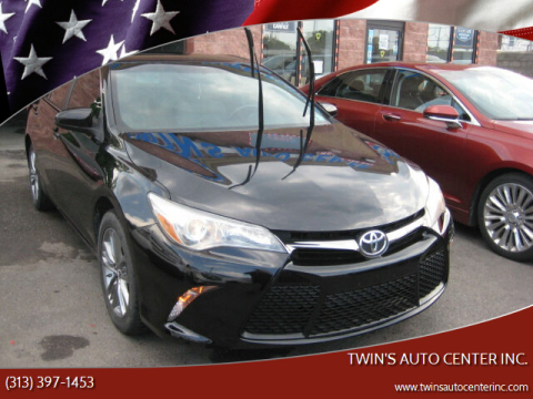 2015 Toyota Camry for sale at Twin's Auto Center Inc. in Detroit MI