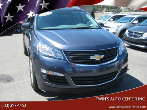 2013 Chevrolet Traverse for sale at Twin's Auto Center Inc. in Detroit MI