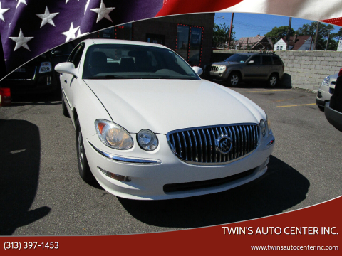2009 Buick LaCrosse for sale at Twin's Auto Center Inc. in Detroit MI