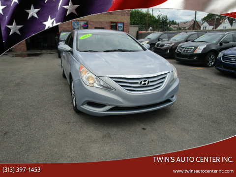 2011 Hyundai Sonata for sale at Twin's Auto Center Inc. in Detroit MI
