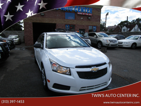 2011 Chevrolet Cruze for sale at Twin's Auto Center Inc. in Detroit MI