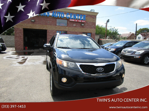 2011 Kia Sorento for sale at Twin's Auto Center Inc. in Detroit MI