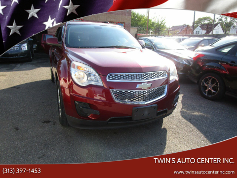 2010 Chevrolet Equinox for sale at Twin's Auto Center Inc. in Detroit MI
