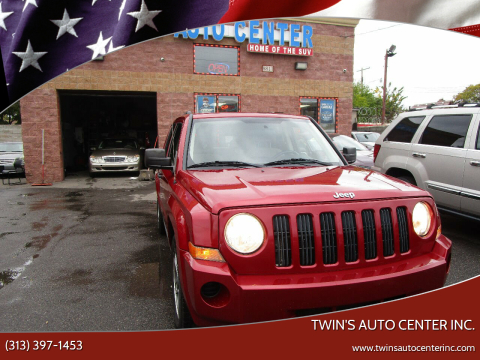 2009 Jeep Patriot for sale at Twin's Auto Center Inc. in Detroit MI