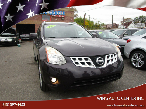 2013 Nissan Rogue for sale at Twin's Auto Center Inc. in Detroit MI