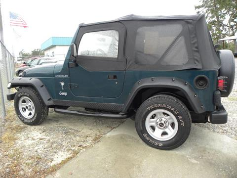 1998 Jeep Wrangler for sale in Jesup, GA