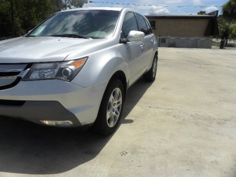 2008 Acura MDX for sale at VANN'S AUTO MART in Jesup GA