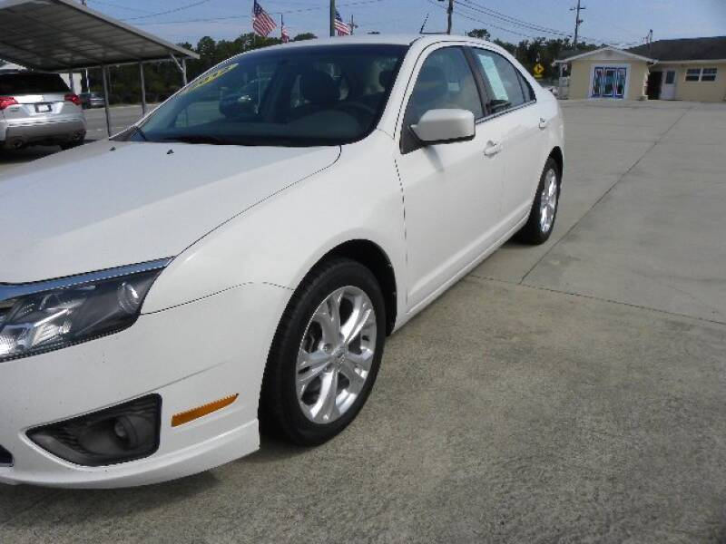 2012 Ford Fusion for sale at VANN'S AUTO MART in Jesup GA