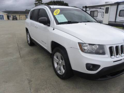 2014 Jeep Compass for sale at VANN'S AUTO MART in Jesup GA