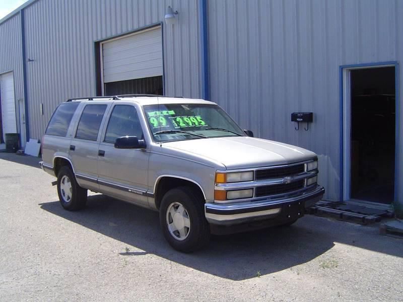 1999 Chevrolet Tahoe In Jayton TX  ROBERT HALL CHEVROLET