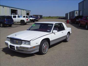 1989 Cadillac Eldorado for sale in Jayton, TX