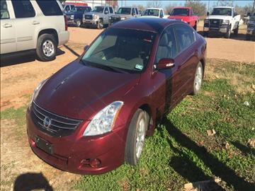 2011 Nissan Altima for sale in Jayton, TX