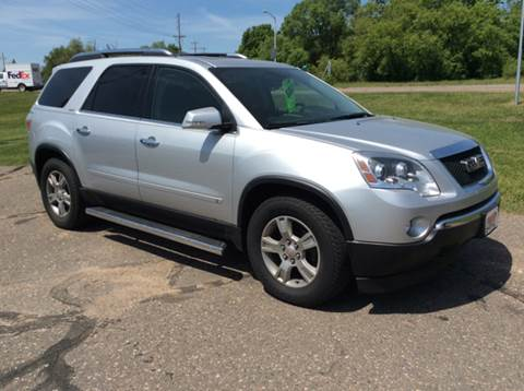 2009 GMC Acadia for sale at MOTORS N MORE in Brainerd MN