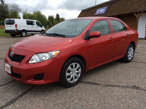 2010 Toyota Corolla for sale at MOTORS N MORE in Brainerd MN
