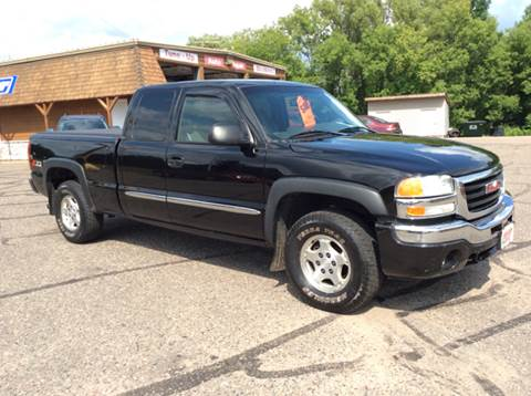2003 GMC Sierra 1500 for sale at MOTORS N MORE in Brainerd MN