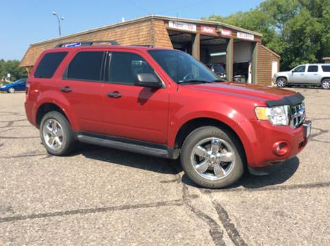 2011 Ford Escape for sale at MOTORS N MORE in Brainerd MN