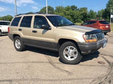 2001 Jeep Grand Cherokee for sale at MOTORS N MORE in Brainerd MN