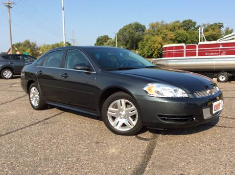 2012 Chevrolet Impala for sale at MOTORS N MORE in Brainerd MN