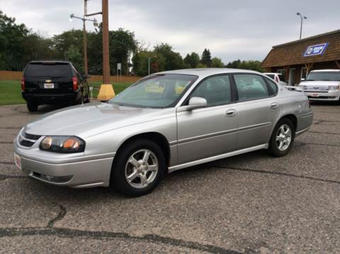2005 Chevrolet Impala for sale at MOTORS N MORE in Brainerd MN