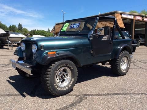 1984 Jeep CJ-7 for sale in Brainerd, MN